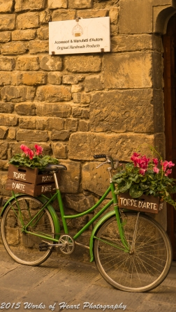 Bicycle in Florence, Italy